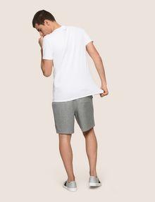 ARMANI EXCHANGE FRAGMENTED TYPEWRITER LOGO TEE Logo T-shirt Man e