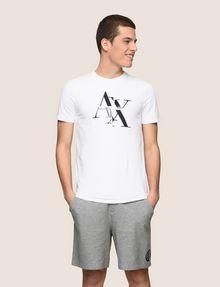 ARMANI EXCHANGE T-SHRT MIT TYPEWRITER FRAGMENTLOGO Logo-T-Shirt [*** pickupInStoreShippingNotGuaranteed_info ***] f