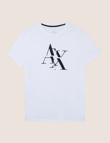 ARMANI EXCHANGE T-SHRT MIT TYPEWRITER FRAGMENTLOGO Logo-T-Shirt Herren r