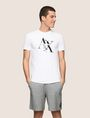 ARMANI EXCHANGE T-SHRT MIT TYPEWRITER FRAGMENTLOGO Logo-T-Shirt Herren f