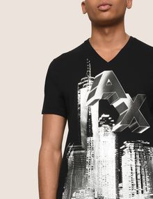ARMANI EXCHANGE T-Shirt mit Grafik Herren b