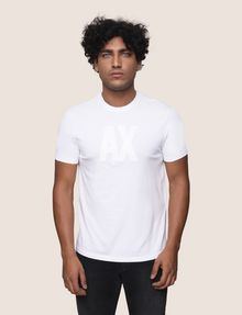ARMANI EXCHANGE TONAL LOGO ACCENT TEE Logo T-shirt Man f