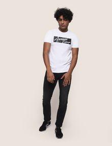 ARMANI EXCHANGE NEGATIVE SPACE PRINT TEE Logo T-shirt Man d