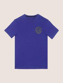 ARMANI EXCHANGE T-SHIRT MIT GLÄNZENDEM COLORBLOCK-SAUM Logo-T-Shirt [*** pickupInStoreShippingNotGuaranteed_info ***] r