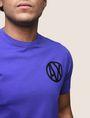 ARMANI EXCHANGE T-SHIRT MIT GLÄNZENDEM COLORBLOCK-SAUM Logo-T-Shirt [*** pickupInStoreShippingNotGuaranteed_info ***] b