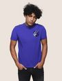 ARMANI EXCHANGE T-SHIRT MIT GLÄNZENDEM COLORBLOCK-SAUM Logo-T-Shirt [*** pickupInStoreShippingNotGuaranteed_info ***] f