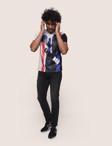 ARMANI EXCHANGE MOD MIX COLORBLOCK TEE Logo T-shirt Man d