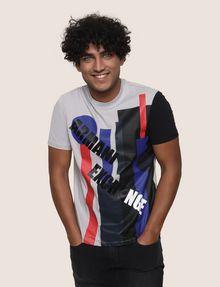ARMANI EXCHANGE MOD MIX COLORBLOCK TEE Logo T-shirt Man f