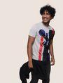 ARMANI EXCHANGE MOD MIX COLORBLOCK TEE Logo T-shirt Man a