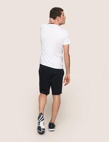 ARMANI EXCHANGE T-SHIRT MIT ADLERPRINT UND QUERSTREIFEN Logo-T-Shirt Herren e