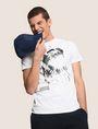 ARMANI EXCHANGE T-SHIRT MIT ADLERPRINT UND QUERSTREIFEN Logo-T-Shirt Herren a