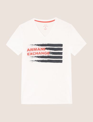 PAINTED LINES LOGO TEE
