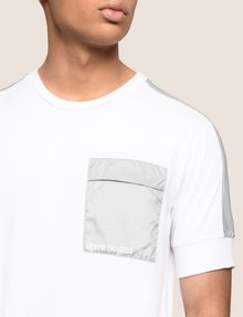 ARMANI EXCHANGE UTILITY POCKET TEE S/L Knit Top Man b