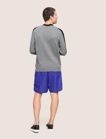 ARMANI EXCHANGE COLORBLOCK CIRCLE LOGO SWEATER Pullover Man e