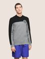 ARMANI EXCHANGE COLORBLOCK CIRCLE LOGO SWEATER Pullover Man f