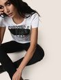 ARMANI EXCHANGE SHOPPING IS MY CARDIO TEE Logo T-shirt Woman a