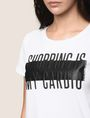 ARMANI EXCHANGE SHOPPING IS MY CARDIO TEE Logo T-shirt Woman b