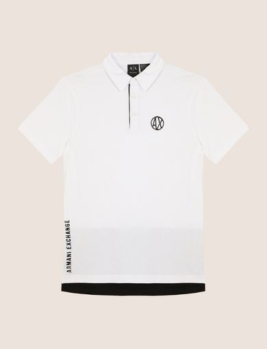 CIRCLE LOGO COLORBLOCK POLO