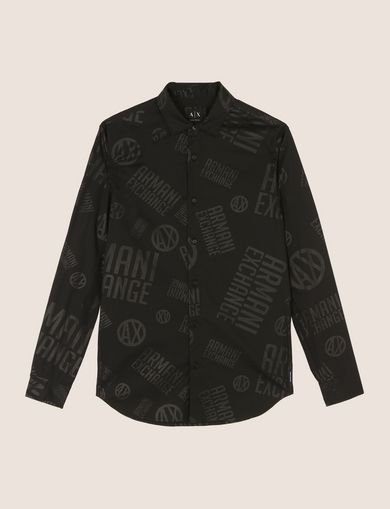 ARMANI EXCHANGE Printed Shirt Man R