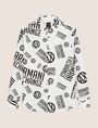 ARMANI EXCHANGE STRETCH CIRCLE LOGO PRINT SHIRT Long sleeve shirt Man r