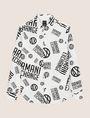 ARMANI EXCHANGE STRETCH CIRCLE LOGO PRINT SHIRT Long-Sleeved Shirt Man r
