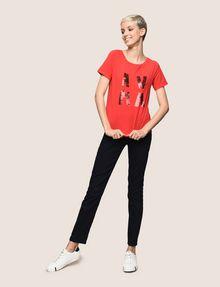 ARMANI EXCHANGE T-SHIRT CON LOGO E PAILLETTES T-shirt con logo [*** pickupInStoreShipping_info ***] d
