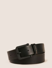 ARMANI EXCHANGE SQUARE BUCKLE LOGO BELT Belt Man f