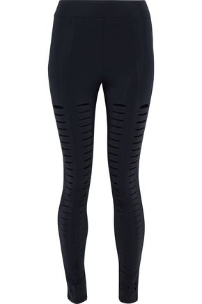 CUSHNIE ET OCHS Cutout stretch leggings