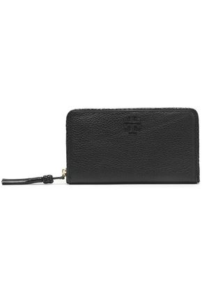 TORY BURCH Pebbled-leather wallet
