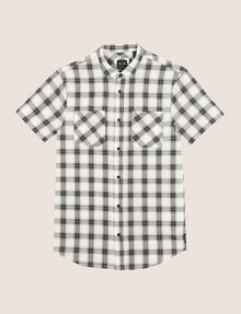 ARMANI EXCHANGE SLIM-FIT STRETCH DIRECTIONAL PLAID SHIRT Short sleeve shirt Man r
