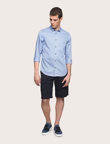 ARMANI EXCHANGE REGULAR-FIT MICROPRINT SHIRT Long sleeve shirt [*** pickupInStoreShippingNotGuaranteed_info ***] d