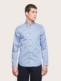 ARMANI EXCHANGE REGULAR-FIT MICROPRINT SHIRT Long sleeve shirt [*** pickupInStoreShippingNotGuaranteed_info ***] f