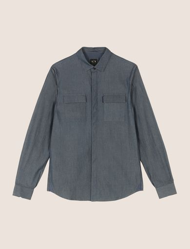 SLIM-FIT MODERN UTILITY SHIRT