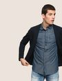 ARMANI EXCHANGE SLIM-FIT MODERN UTILITY SHIRT Long sleeve shirt Man a