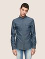 ARMANI EXCHANGE SLIM-FIT MODERN UTILITY SHIRT Long sleeve shirt Man f