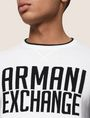 ARMANI EXCHANGE CREWNECK INTARSIA VARSITY SWEATER Crew Neck Man b