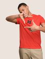 ARMANI EXCHANGE SIMPLE LOGO TEE Logo T-shirt Man a