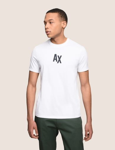 ARMANI EXCHANGE SIMPLE LOGO TEE Man front