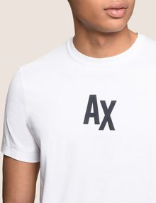 ARMANI EXCHANGE SIMPLE LOGO TEE Logo T-shirt Man b