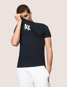 ARMANI EXCHANGE T-SHIRT CON STAMPA LOGATA Camiseta con logotipo [*** pickupInStoreShippingNotGuaranteed_info ***] a