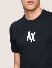 ARMANI EXCHANGE T-SHIRT CON STAMPA LOGATA Camiseta con logotipo [*** pickupInStoreShippingNotGuaranteed_info ***] b