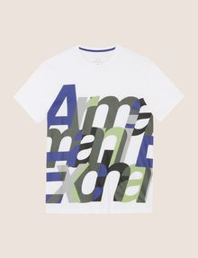 ARMANI EXCHANGE CLOSE KERN LOGO TEE Logo T-shirt Man r