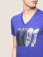 ARMANI EXCHANGE DOUBLE VISION FOIL TEE Logo T-shirt Man b