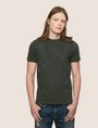 ARMANI EXCHANGE ETCHED LOGO TEE Logo T-shirt Man f