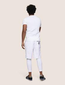 ARMANI EXCHANGE RETROFUTURE STRIPE LOGO TEE Logo T-shirt Man e
