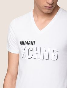 ARMANI EXCHANGE T-SHIRT CON STAMPA LOGATA Camiseta con logotipo [*** pickupInStoreShippingNotGuaranteed_info ***] b
