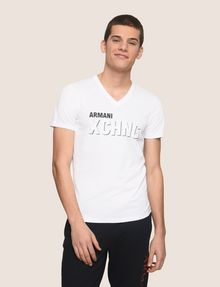 ARMANI EXCHANGE T-SHIRT CON STAMPA LOGATA Camiseta con logotipo [*** pickupInStoreShippingNotGuaranteed_info ***] f
