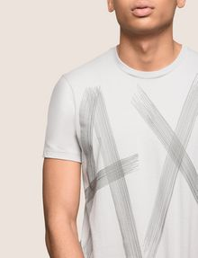 ARMANI EXCHANGE ETCHED LOGO TEE Logo T-shirt Man b
