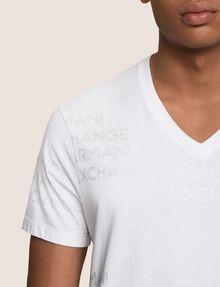 ARMANI EXCHANGE T-SHIRT CON STAMPA LOGATA Camiseta con logotipo Hombre b