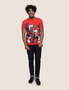 ARMANI EXCHANGE T-SHIRT CON STAMPA LOGATA Camiseta con logotipo Hombre d